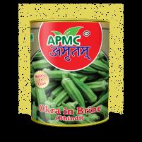 Okra in Brine (Bhindi)